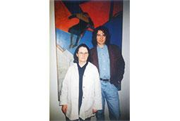 Mirej Roben i Zoran Bognar, Beograd, 1998.