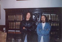 Zoran Bognar i Radivoj Šajtinac, Kikinda, 1999.