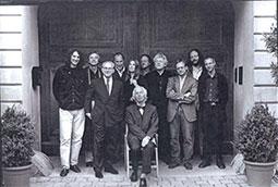 Zoran Bognar, Peter Ham, Hubert Burda, Mihael Kriger, Peter Handke, Jagoda Marinić, Jozef Janker, Alfred Kolerič, Uroš Zupan; Petrarkini susreti, Minhen, Nemačka, 1999.