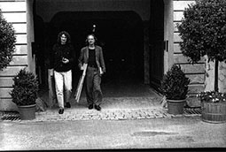 Zoran Bognar i Peter Handke; Petrarkini susreti, Langenburg, Nemačka, 1999.