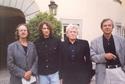 Handke, Bognar, Kolerič i Ham; Petrarkini susreti, Langenburg, Nemačka, 1999.
