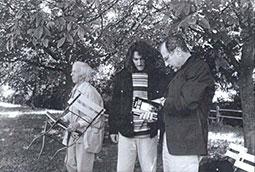 Josef Janker, Zoran Bognar i Mihael Kriger, Petrarkini susreti, Langenburg, Nemačka, 1999.