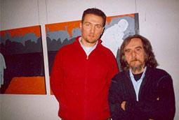 Zoran Bognar i Radivoj Šajtinac, Novi Kneževac, 2004.