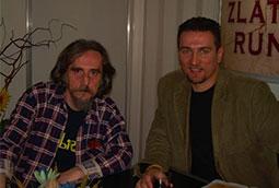 Radivoj Šajtinac i Zoran Bognar, Sajam knjiga, Beograd, 2006.